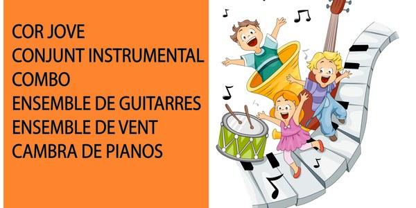 Concert fi de curs 2020-2021 - Escola Municipal de Música Tremp