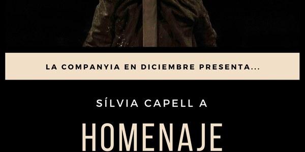 """En Diciembre presenta l'espectacle """"Homenaje"""""""