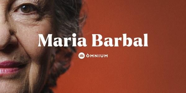 Lliurament del 53è Premi d'Honor de les Lletres Catalanes a l'escriptora Maria Barbal