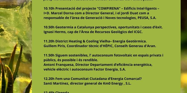 Projectes innovadors de present i futur