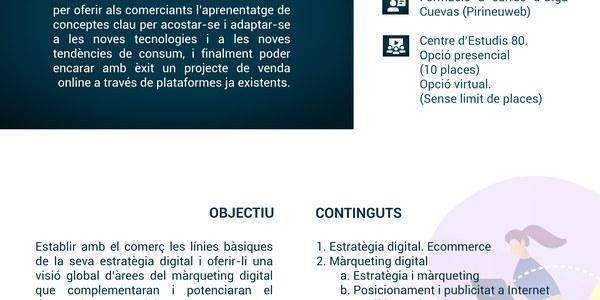 Seminaris de comerç: Obre't espai al mercat web