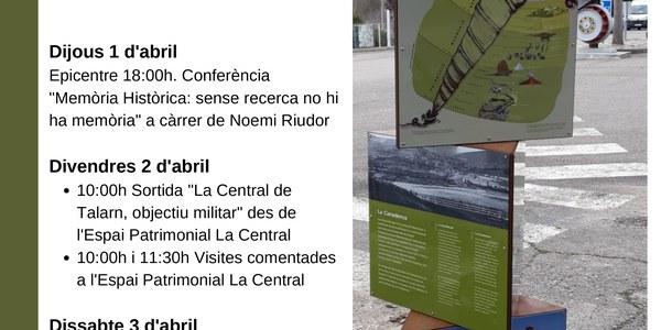 "Sortida ""La Central de Talarn, objectiu militar"""