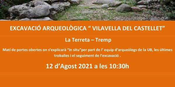 """Visita a l'excavació arqueològica """"Vilavella del Castellet"""""""