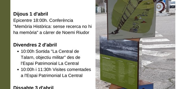 Visites comentades a l'Espai Patrimonial La Central