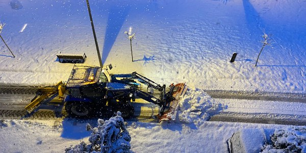 Afectacions causades per la nevada