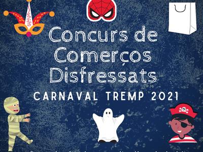 Bases per al concurs de Comerços Disfressats de Carnaval 2021