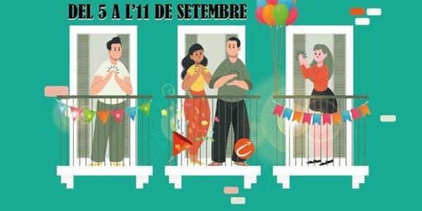 Concurs d'engalanar balcons #BalconsCAT21