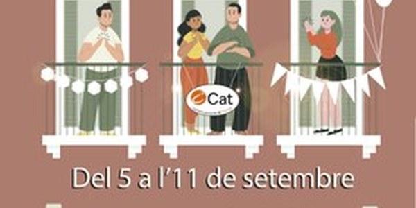 Concurs d'engalanar balcons per la Festa Major