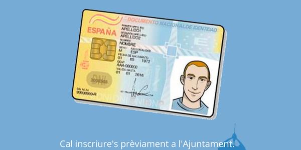 Es reprèn el servei de renovació de documents d'identitat