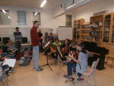 Inici de curs de l'Escola Municipal de Música