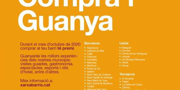 La 10a campanya COMPRA I GUANYA arriba aquest octubre a Tremp i a 30 municipis més de tot Catalunya