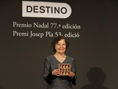 Maria Barbal guanya el Premi Josep Pla 2021