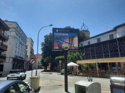 Senyalització de l'eix urbà de Tremp i entorn geoparc