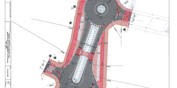 S'inicien les obres de la rotonda de l'avinguda Pirineus
