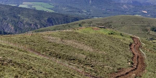 Subministrament i muntatge d'un tancat d'exclusió per a senglars al PAS de la Terreta