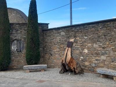 Tremp homenatja amb un espai per la memòria a les víctimes la COVID-19